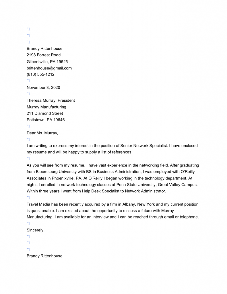Free Cover Letter Template In Google Docs Sweendawg